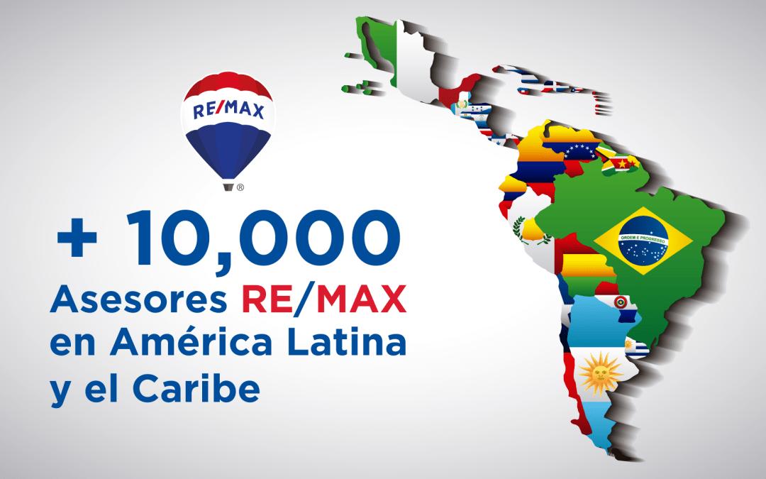 REMAX supera los 10,000 Asesores en América Latina y el Caribe