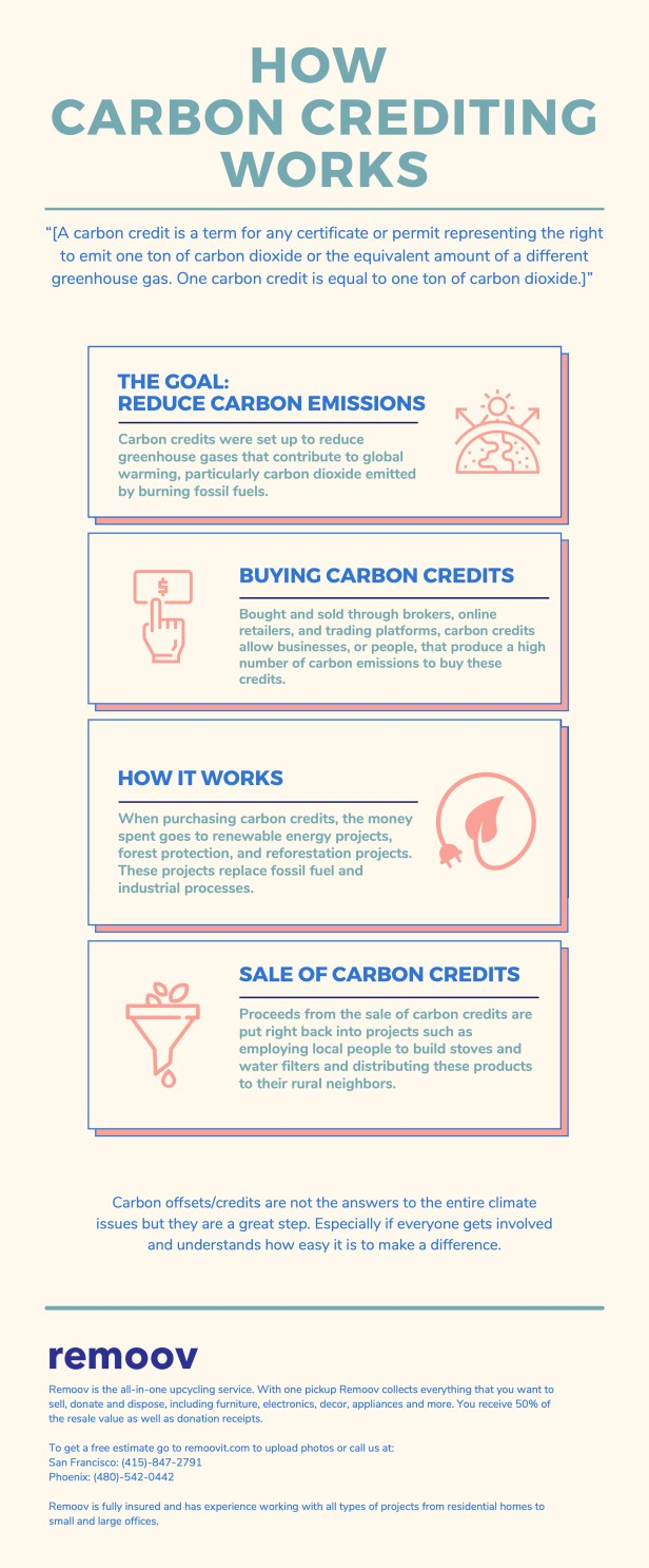 How Carbon Crediting Works - Infographics