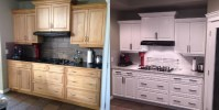Cabinet Refinishing: Affordable Kitchen Reno | Home ...