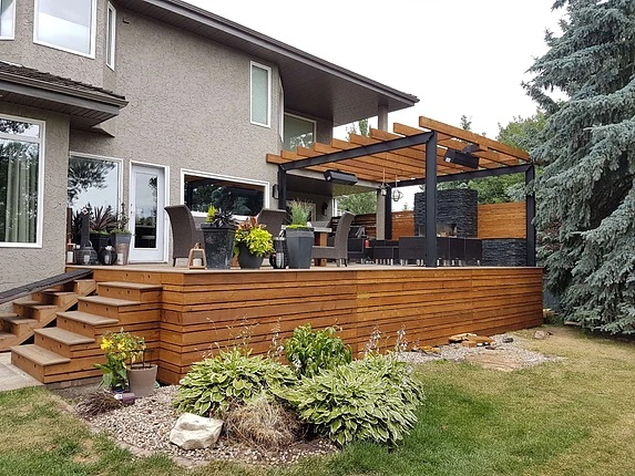the value of a deck addition