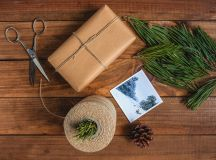 Holiday gift wrapping paper