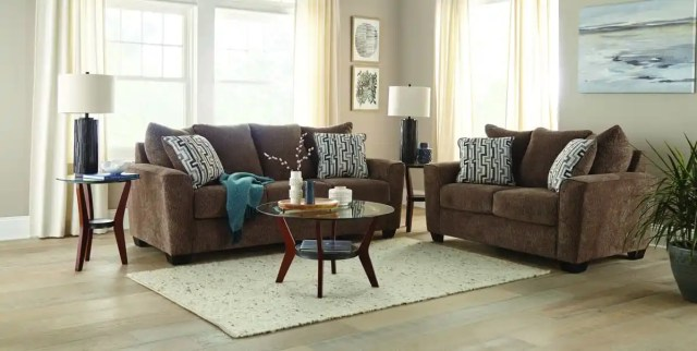 Twombley couch and loveseat living room set