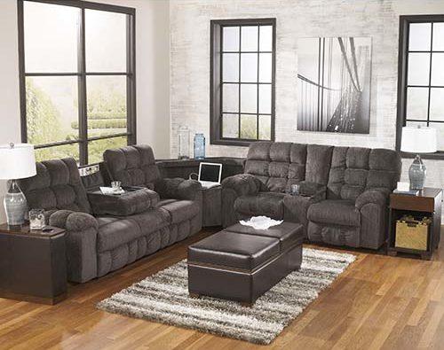 Ashley Acieona-Slate 3-piece reclining sectional