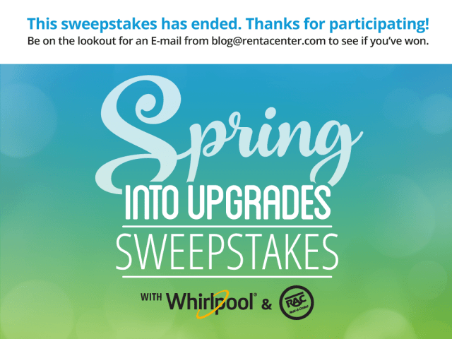 Spring Into Upgrades Sweepstakes Has Ended