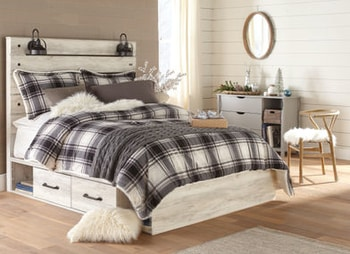 Farmhouse-style Cambeck bed