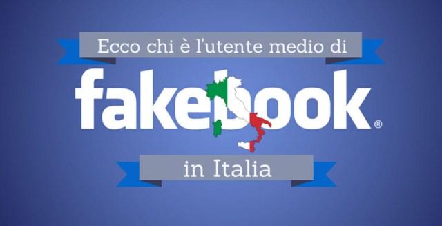 utente medio di Facebook in Italia