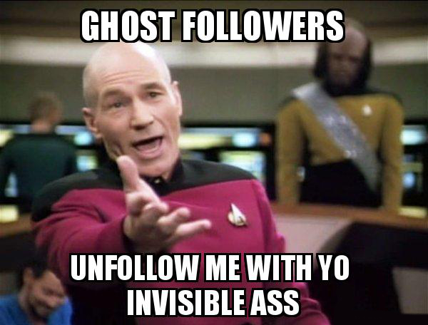 Spammer e Ghost Followers