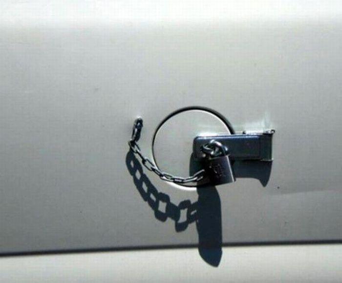 Reparacion tapa gasolina