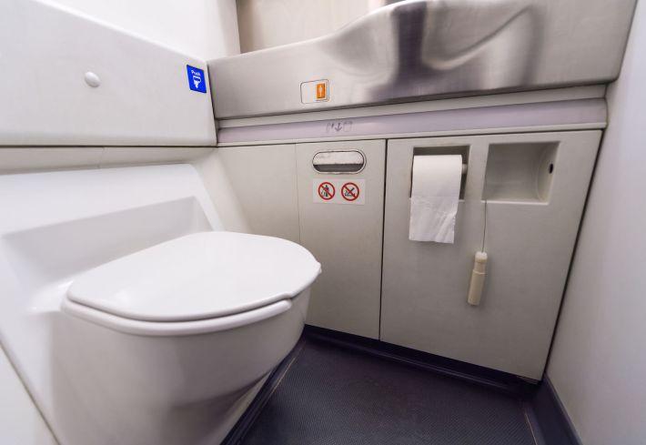 higiénia fedélzeti wc