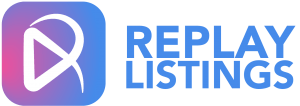 Replay Listings Logo