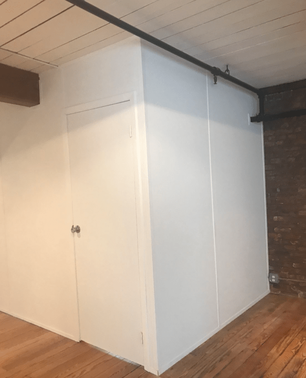 full pressurized temporary wall in NYC