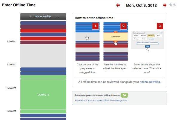 Offline Time Entry UI