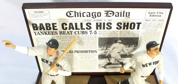 Publicly stating a risky goal worked out for Babe Ruth in the 1932 World Series.