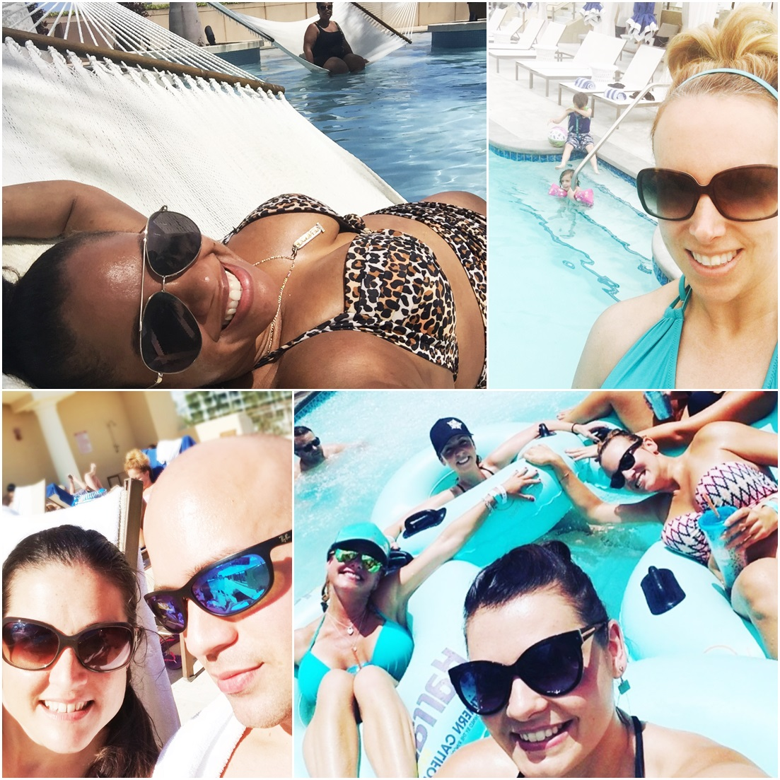 Pool Selfies - National Selfie Day