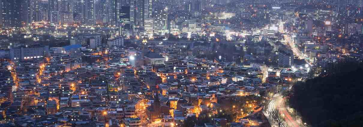 Seoul, South Korea tops the list of the highest city carbon footprints