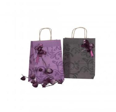 Bolsas de papel asa retorcida ryad