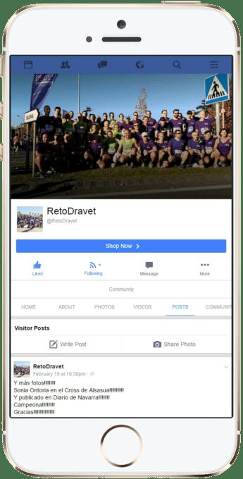 RetoDravet Facebook