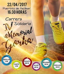 IV CARRERA SOLIDARIA MEMORIAL GORKA