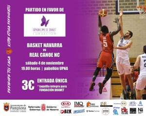 Partido de baloncesto a beneficio de la Fundación
