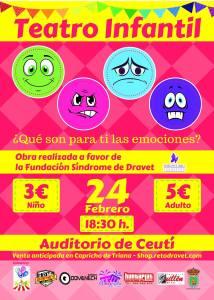 Teatro Infantil Confettiworld 2018