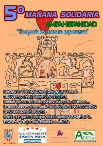 5º mañana solidaria AMPA Hispanidad Santa Pola