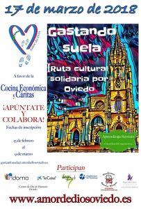 I Ruta cultural solidaria por Oviedo