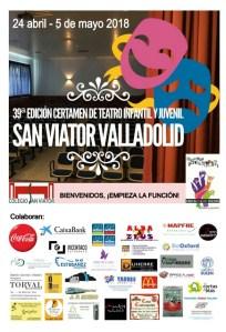 """39 CERTAMEN DE TEATRO INFANTIL Y JUVENIL """"SAN VIATOR DE VALLADOLID"""""""