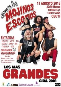 Concierto Mojinos Escozios Ceutí Murcia 2018