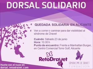 Quedada solidaria RetoDravet en Alicante 2018