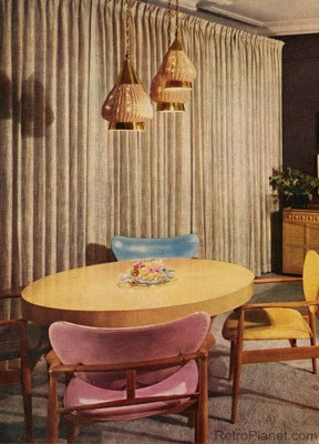 1950s Decorating Style