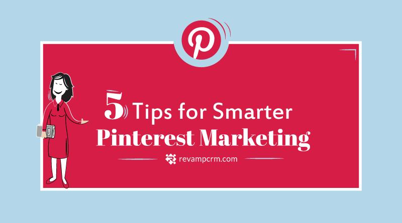 5 Tips For Smarter Pinterest Marketing Infographic