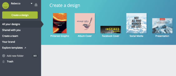canva album tutorial