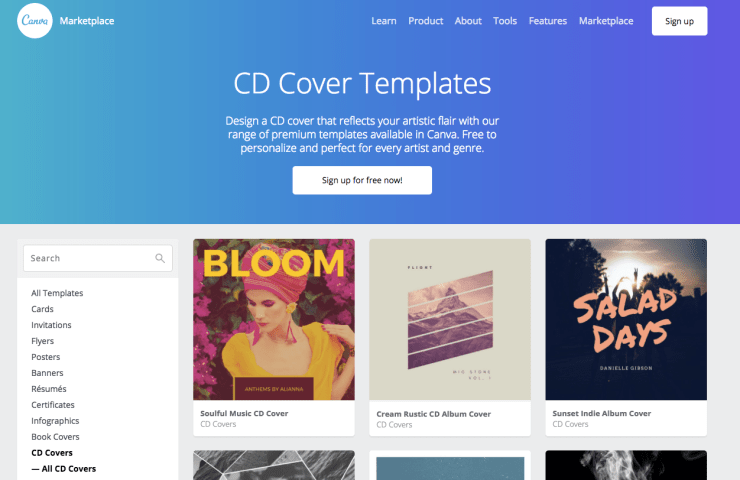 how to create album artwork