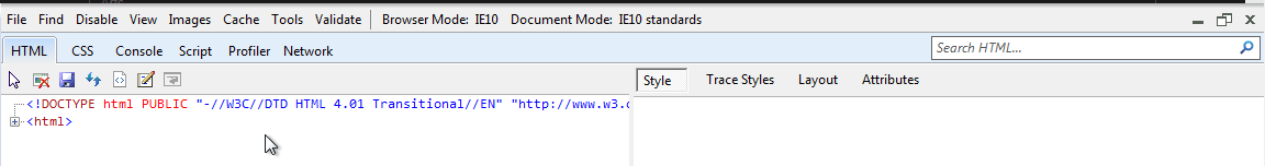 Fix Common IE Problems: Update your Docmode for Web Standards | Rey