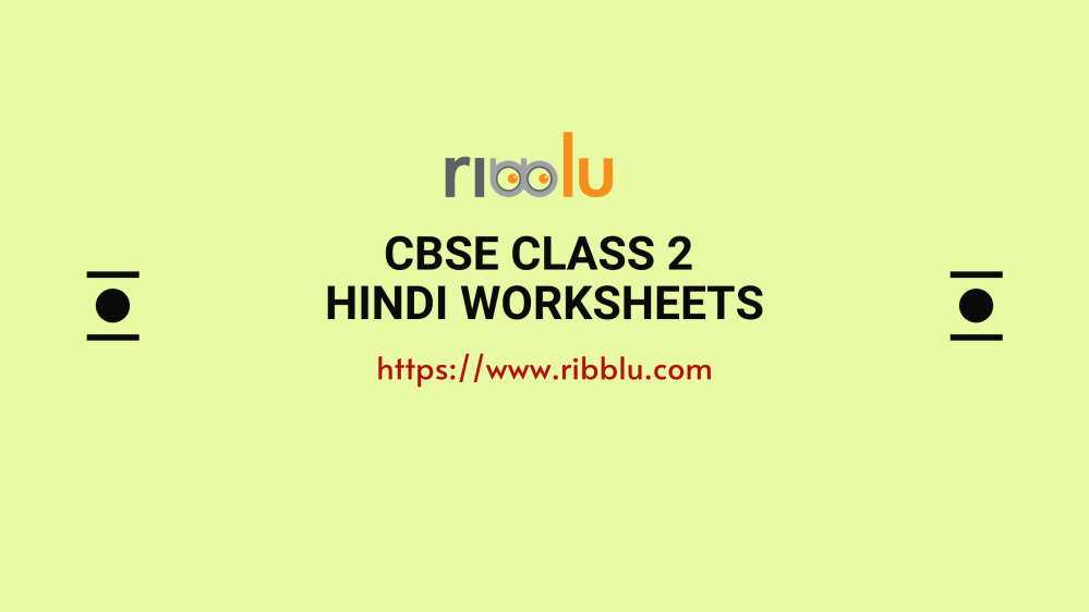 medium resolution of CBSE Class 2 Hindi Worksheets and Question Papers