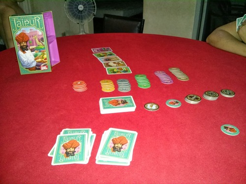 Jaipur Tabletop Game