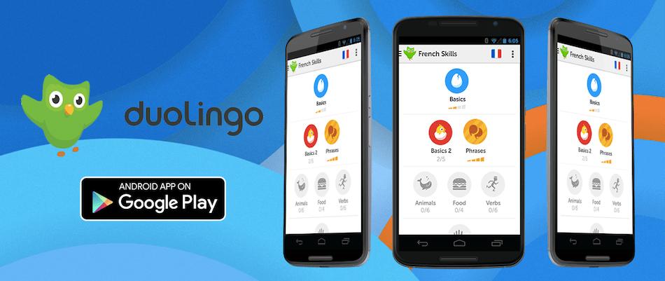 duolingo - 15 melhores aplicações android grátis