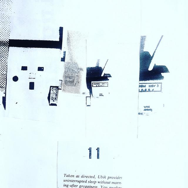 Ubik – collages
