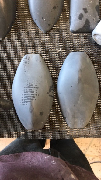 Sanded Space Rocks ready for painting