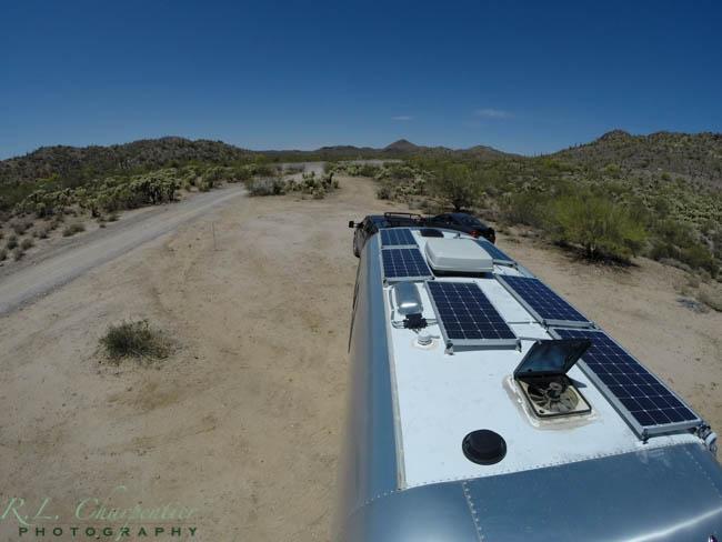 Airstream Power 600 Watts of Solar