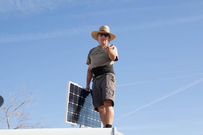 RV Solar installer Precision RV