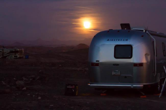 Airstream RV Travel Solar Power Boondocking