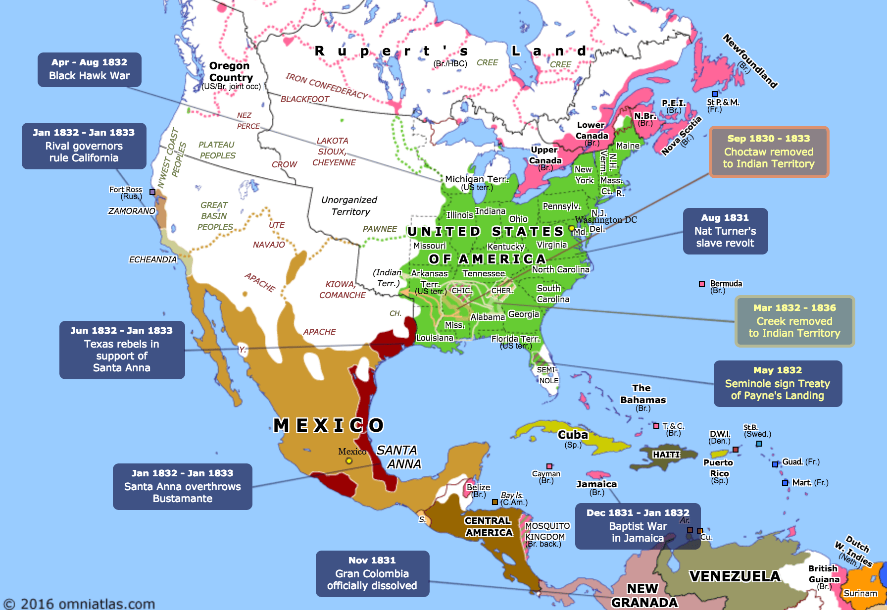 Atlas Of The Week Political Control Of North America