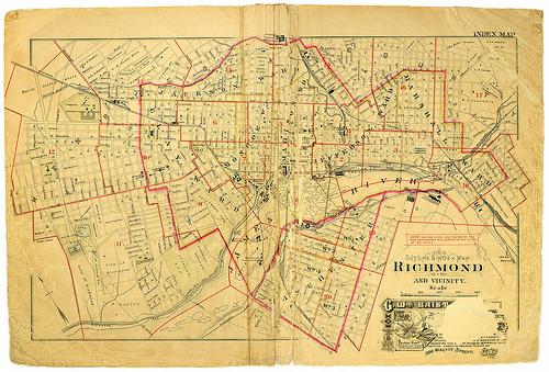 richmond map photo