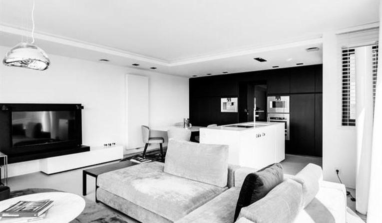 Appartement en Knokke Belgique avec cuisine et salles de bains RiFRA  Photos  Design Bath