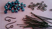 How to make Cluster Earrings  Rings and Things