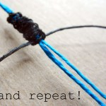 Diy Shamballa Style Macrame Bracelet Tutorial Rings And Thingsrings And Things
