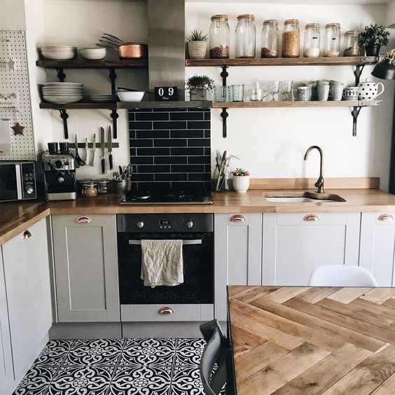 etagere cuisine acier