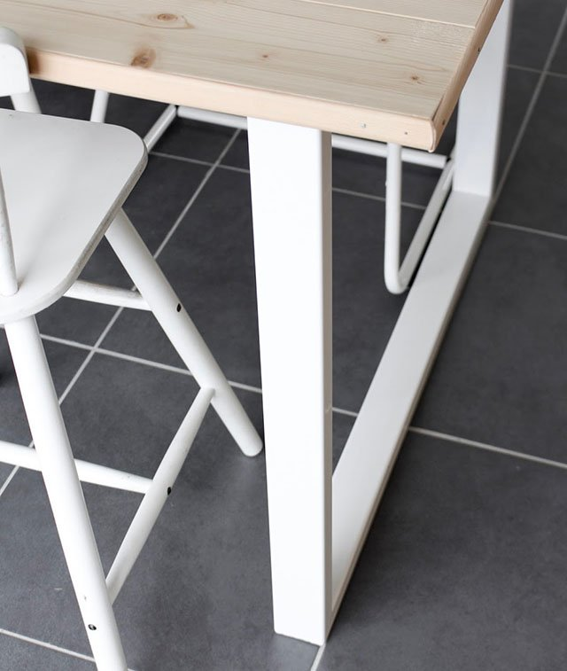 intrepide diy table