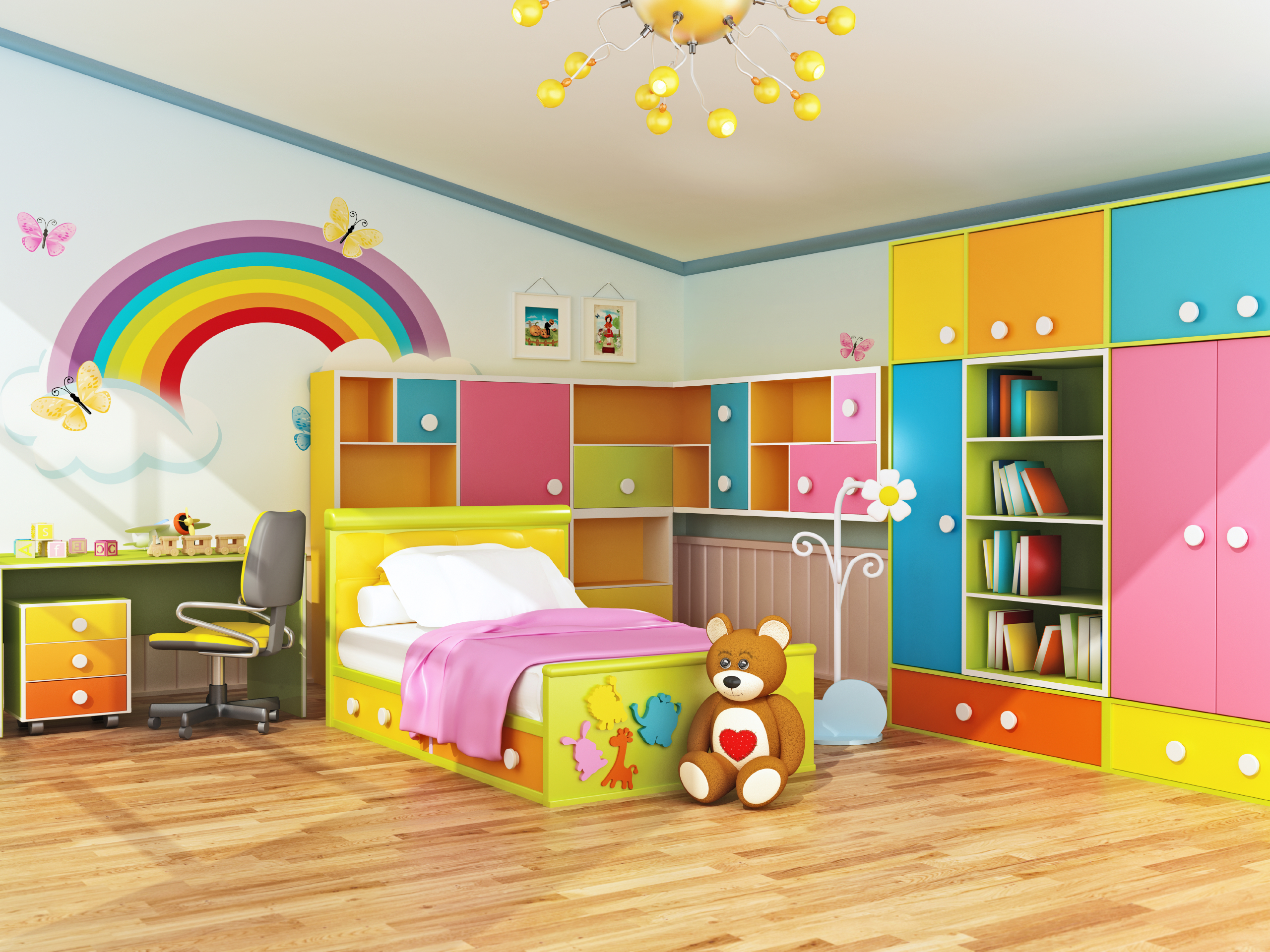 Plan Ahead When Decorating Kids Bedrooms  RISMedias Housecall